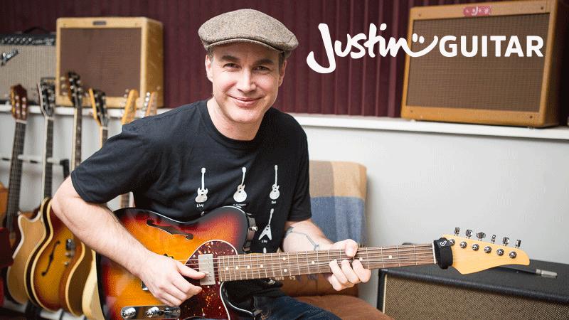 Justin Guitar lessons