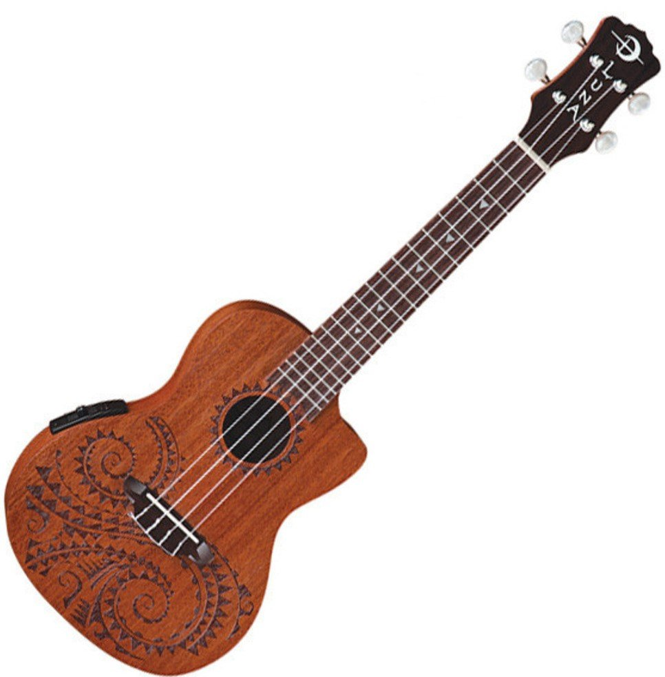 Luna Tattoo Ukulele